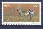 South Africa 1976, Mi 503  Wild Animals Mnh** Zebra - Non Classés