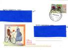 [EB] Lettre Ukraine Ucraina Timbre Stamp On Prepaid Cover - Filatelia & Monete