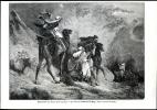 Le Sirocco, Tableau De Magy     Gravure   1867 - Vieux Papiers