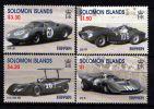 SOLOMON ISLANDS // 1999 - Voitures Ferrari // 4v NEUFS ***  (MNH) - Solomoneilanden (1978-...)