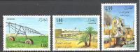 Algérie: Yvert N° 949/51; Agriculture; Arrosage - Algérie (1962-...)