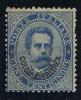 Italy: Eritrea, 1893 Michel 6 A Blue, MH/Neuf* Cat Value € 1000 - Eritrea