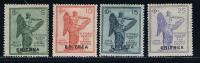 Italy: Eritrea, 1932, S 10,  Michel 53-56 MH/Neuf* - Eritrea