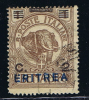 Italy: Eritrea, 1924,  Michel 83 Used, - Eritrea
