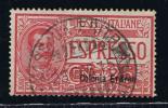 Italy: Eritrea, 1907,  Michel 31    E1 Eilmark Used - Eritrea