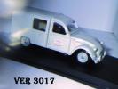 - VEREM - CITROEN 2 CV Camionnette Grise - Echelle 1/43° - Verem