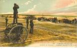 68 - L'Armée Française - Artillerie De Forteresse - Capitaine Observant Le Tir - Manoeuvres