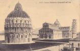 PISA DUOMO BATTISTERO E CAMPANILE DALL ALTO - Pisa