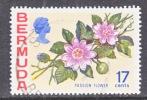 Bermuda 322 (o)  FLOWERS - Bermuda