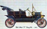 Ford Model T Touring Car 1909, Dexter Unused - Passenger Cars