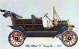 Ford Model T Touring Car 1909, Dexter Unused - - Passenger Cars