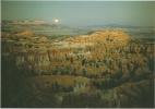 CPM Bryce Canyon, National Park, Utah / Pleine Lune / Pink Cliffs, Full Moon / érosion, Géologie - Bryce Canyon
