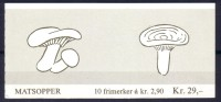 Norvège - Carnet N° C946 Neuf ** - Champignons - Carné