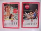 COCA COLA /  Calendari - Calendriers