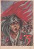 MILITARI SOLDATI REGGIMENTO MILIZIA VENTENNIO FASCIO POSTA MILITARE 3°REGG.BERSAGLIERI ILL.? ORIGINALE 100% - Guerra 1939-45