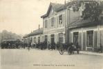 55 VERDUN  LA GARE DE L'EST  VUE PRISE PLACE DE LA GARE - Verdun