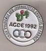 Union Syndicale  Des  Journaliste  Sportifs De France Agde 1992 - Pin's