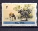 Tanzania 1980 Endangered Wildlife Buffalo Animals  Mnh** - Tanzanie (1964-...)