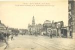 CPA LILLE - AVENUE FAIDHERBE VERS LA BOURSE - VUE DES RUINES OCCASIONNEES PAR LE BOMBARDEMENT ALLEMAND EN 1914 - Lille