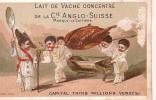 Compagnie Anglo-Suisse/Lait De Vache Concentré/La Laitiére/vers 1875?                IM42 - Liebig