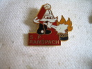 Pin´s Des Sapeurs Pompiers De RANSPACH (Moustaches Blanches) - Pompiers
