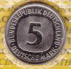 @Y@  Deutschland 5 Mark  1981 F  Stempelglanz    (d1) - 5 Mark