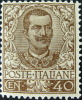 1901 Regno Floreali 40 C Bruno + 50 C Malva Nuovi * (74-76) Gar. Bolaffi - RIF. 10607-10609 - Nuovi