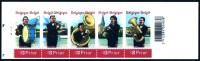 """Boekje 57** / B57 """"Muziek, Fanfares, Klarinet, Tuba, Trom, Bugel"""" / Carnet 57 MNH - Booklets 1953-...."""