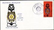 Cov323 French Polynesia, 1979, 20th Anniv Papete Rotary Club - French Polynesia