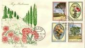 *ITALIA - SERIE FLORA* - (FDC - FILAGRANO) - 6. 1946-.. Repubblica