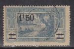 Ivory Coast Used 1922, 1.5f On 2f Blue - Used Stamps
