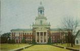 Administration Building, Baylor University, Waco, Texas, TX, 1950's Modern Chrome Postcard # 7706 - Waco