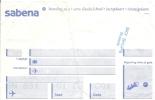 3 Cartes D´embarquement Sabena Pour Vol SN De Bruxelles à Lisbonne, Oslo Et Madrid - Instapkaart