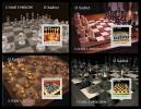 S. TOME & PRINCIPE 2004 - Chess 4 S/S - Palop B656-9 - Schaken