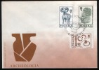 Poland Pologne, Archeology, Biskupin, Lausatian Culture. Ancient Ram. FDC 1966. - Archaeology