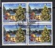 Zwitserland, Mi  Jaar 2011,  Kerstmis, 4 Blok, Prachtig Gestempeld, Zie Scan - Oblitérés