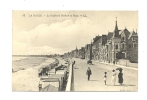 Cp, 44, La Baule, Le Boulevard Darlu Et La Plage, Voyagée 1921 - La Baule-Escoublac