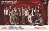 Thailand Phonecard True  Visions  Lady  Group - Thaïland