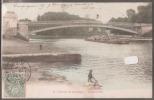 60-----Environ De Compiegne---CHOISY AU BAC ---laveuse---colorisée--- -précurseur - Other Municipalities