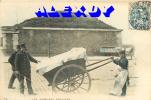 NEW PARIS XIX SUPERBE CPA-PRECURSEUR 1904 *** LES GABELOUS PARISIENS *** TOP RARE AVEC POLICIERS A L´OCTROI - Arrondissement: 19