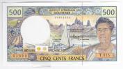 Polynésie Française - 500 FCFP - T.015 / 2012 / Signatures Barroux-Noyer-Besse - Neuf  / Jamais Circulé - Papeete (Polynésie Française 1914-1985)