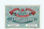 Br - ABSINTHE - ALCOOL - SANTE - L´HERBE SAINTE - APERITIF - PONTARLIER - LA PONTISSALIENNE - LA FEE VERTE - ETIQUETTE - Labels
