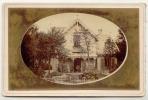 PAYS-BAS HILVERSUM Villa Maria  Alphonse Porel Photographie Originale 1880 - Lieux