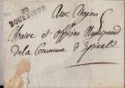 FRANCE: ?:Précurseur De BOURBONNE(50) Pour EPINAL.Sans Texte. - Marcophilie (Lettres)