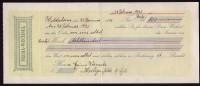 Prima-Wechsel, Hildesheim, Den 29. Januar 1925 über 800,-- Reichsmark ! - Wechsel