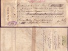 Prima-Wechsel, Rosenheim, Den 9. Mai 1895 über 200,--Mark, Mit Gebührenmarke Auf Der Rückseite ! - Wechsel
