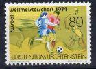 1974, Liechtenstein, Coupe Du Monde De Football, YT No. 549, Neuf ** . Lot 32379 - Coppa Del Mondo