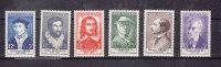 1956        N°1066 à 1071   NEUFS**        CATALOGUE  YVERT&TELLIER - France