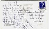 """"""" BORDEAUX RP / GIRONDE / 16-1-1958 """" + """" BORDEAUX / ET SES GRANDS VINS """" - N° 473 - Marcophilie (Lettres)"""