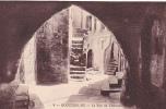 20190 Trois Cpa Roquebrune éd Rion N° 9-15-11 Rue Fontaine Chateau Salle Intérieur - Roquebrune-Cap-Martin